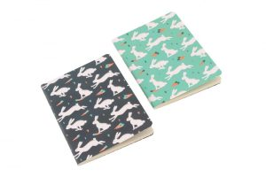 Wild Thoughts Bunny Rabbit A6 Notebooks Set