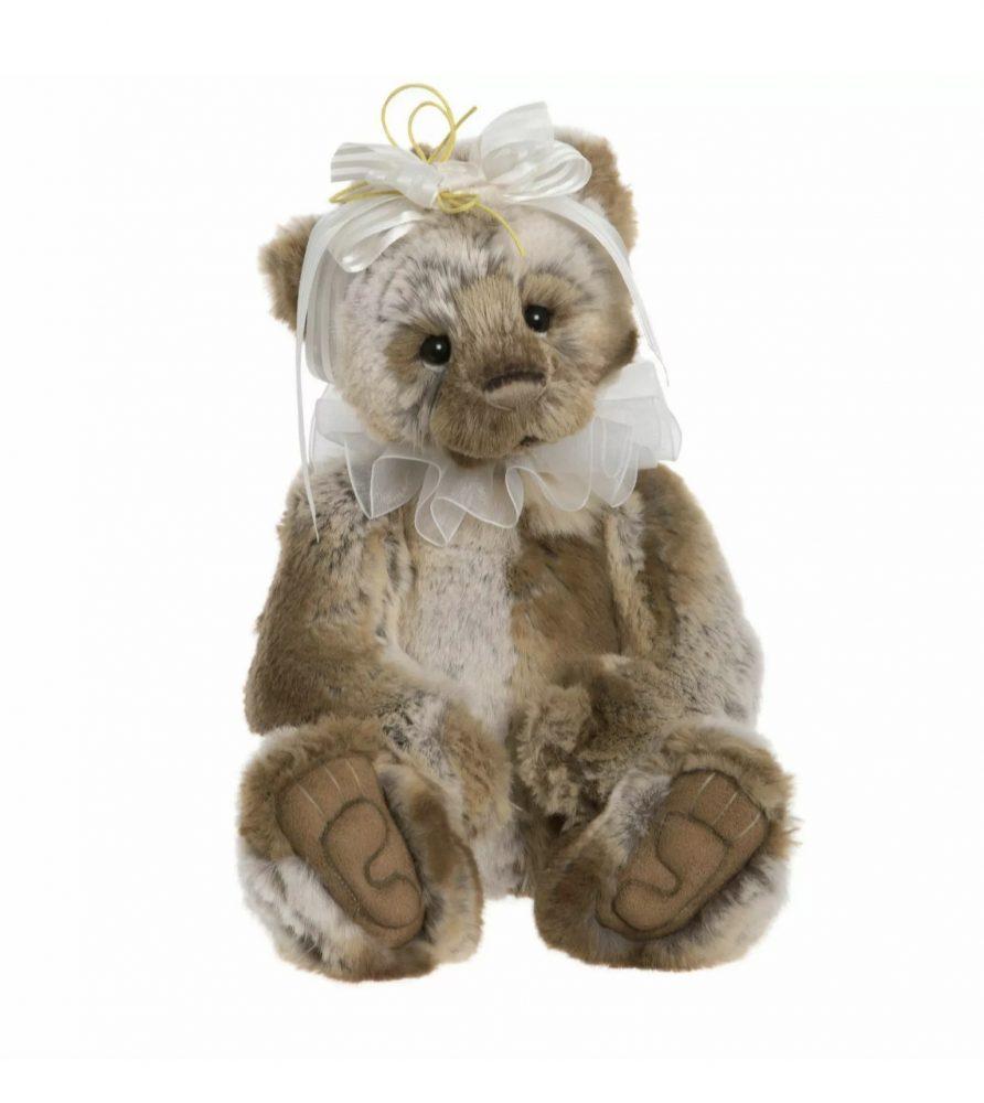 Nyah Plush Bear, 33 cm – Charlie Bears CB191931A