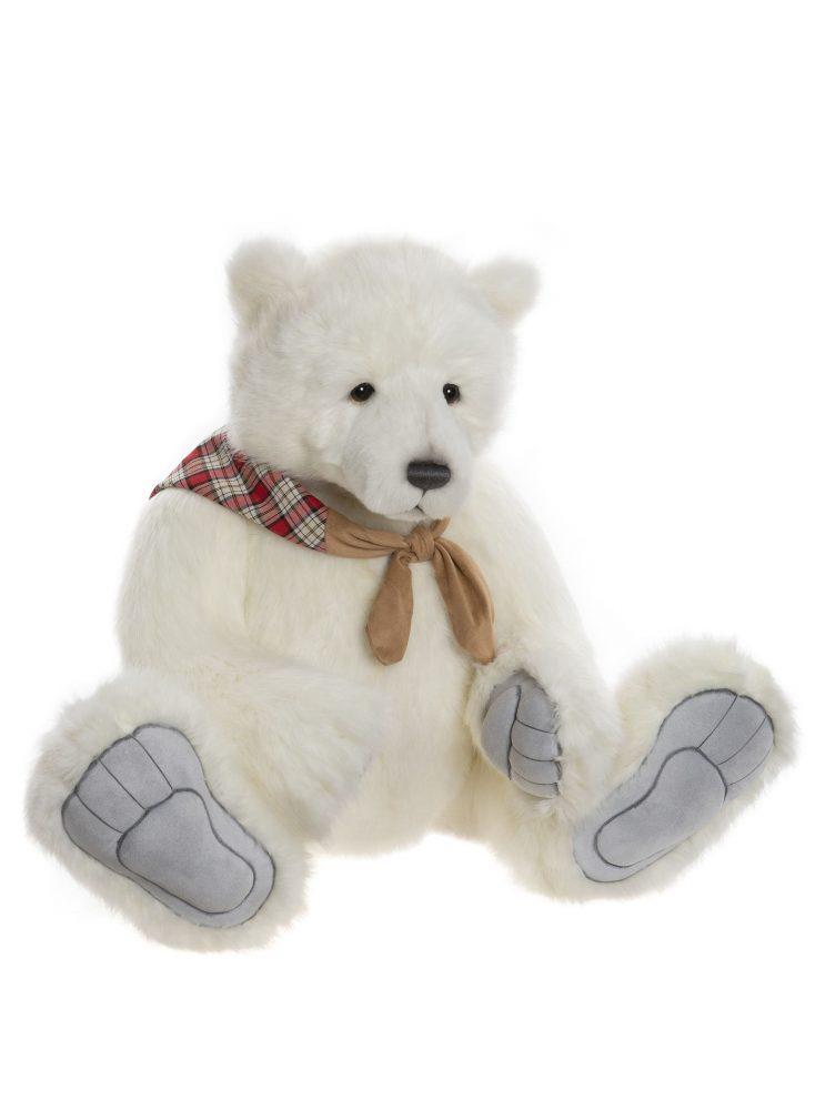 Barret Bear, 86 cm – Charlie Bears Plush CB202061