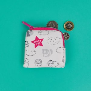 Guinea Pig 'Grinny Pig' Tiny Purse - Giggle and Snort Collection - Really Good