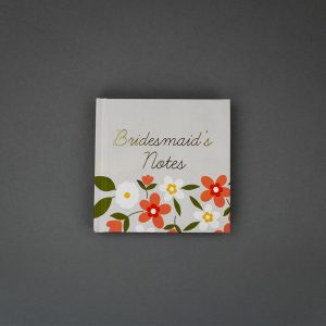 Bridesmaid's Notes Mini Notebook, IMM0B8 - Soul UK