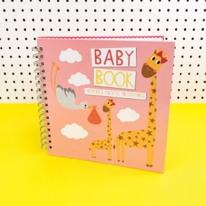 Pink Baby Girl Memories Book for Photos and Milestones - TICKBB02 - Tickle Collection - Really Good