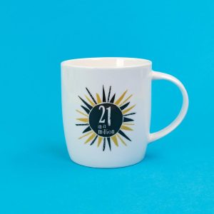 21st Birthday Milestone Mug - The Bright Side - BSHHC54