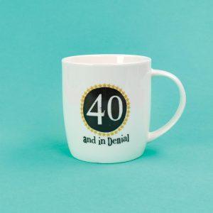 40th Birthday Milestone Mug - The Bright Side - BSHHC56