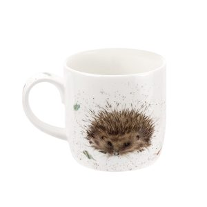 Awakening Hedgehog China Mug - Wrendale Designs