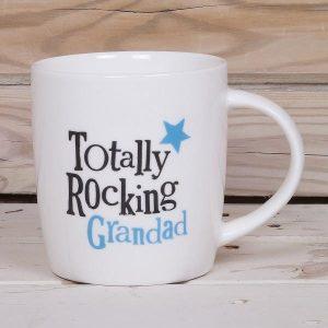 Totally Rocking Grandad Mug - The Bright Side