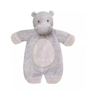 Playful Pals Lovey Hippo Baby Comforter - GUND