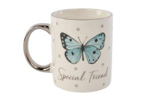 Special Friend Butterfly Mug Richard Lang