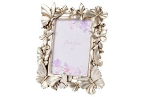 Silver 3D Butterfly Frame richard lang