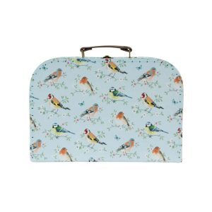 Garden Birds Set of 3 Suitcases - Sass and Belle