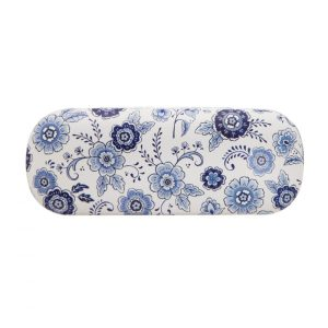 Blue Willow Floral Glasses Case - Sass and Belle