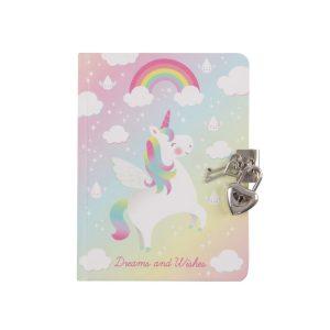 Rainbow Unicorn Secret Diary - Sass and Belle