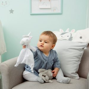 Evie Unicorn Baby Comforter - Sass and Belle