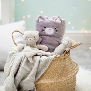 Kitty Cat Baby Comforter - Sass and Belle