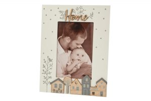 Wooden Houses Home Photo Frame richard lang