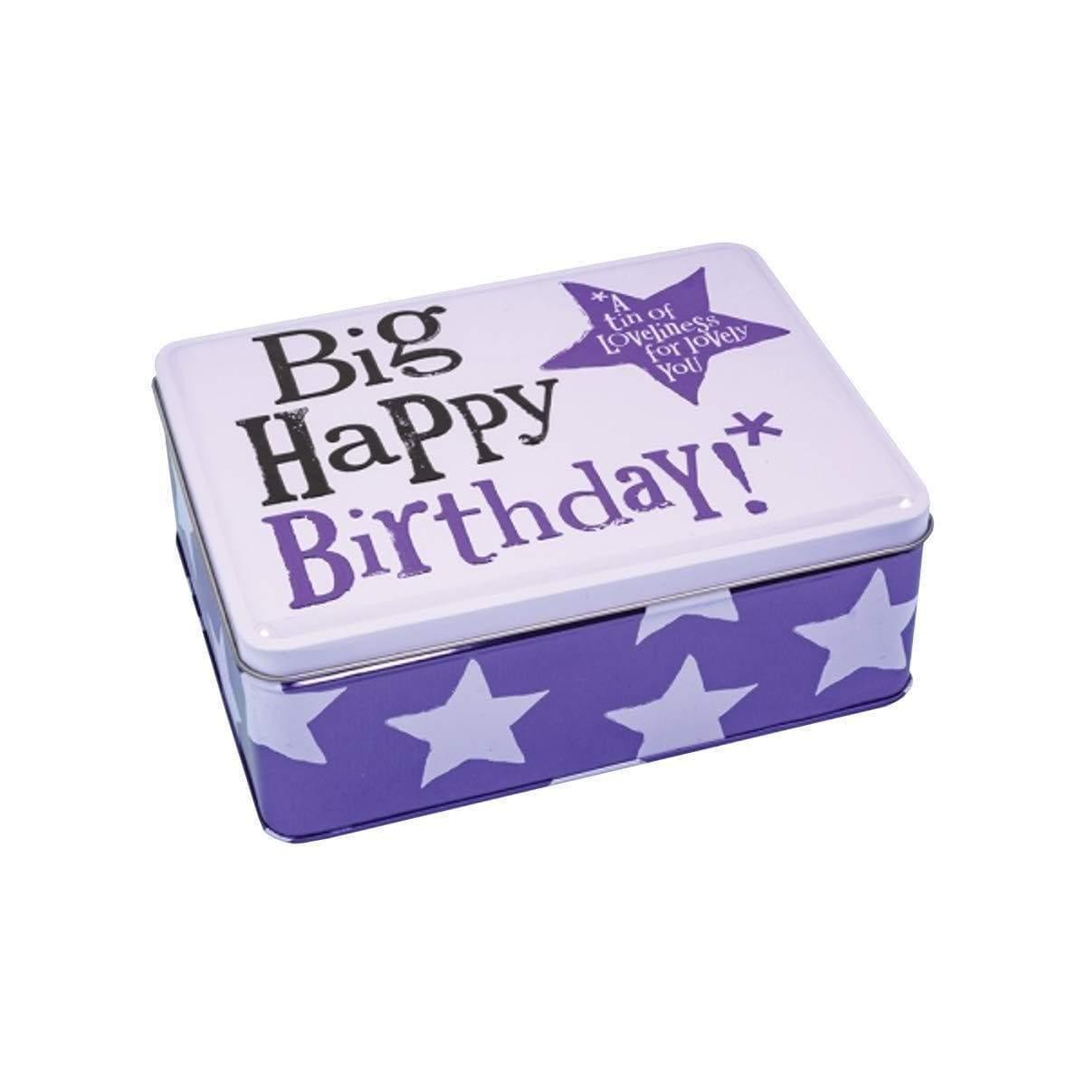 Big Happy Birthday Tin - The Bright Side