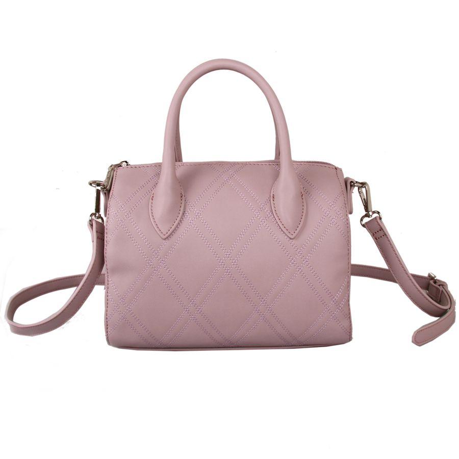 Red Cuckoo - 580 - Dusky Pink Stitch Detail Grab Bag