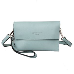 Red Cuckoo - 555 - Mint Small Clutch Cross Body Bag