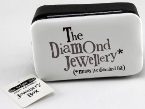'The Diamond Jewellery: Minus The Diamond Bit' Jewellery Box - The Bright Side