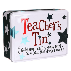 Teacher's Tin - The Bright Side