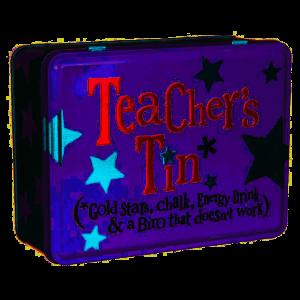 Teacher's Tin - The Bright Side