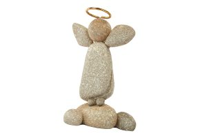 Guardian Angel Pebble Figurine