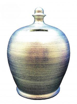 Terramundi Money Pot - Twinkle Twinkle Electric Blue - A86
