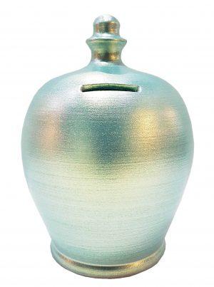 Terramundi Money Pot - Twinkle Twinkle Aqua - D82