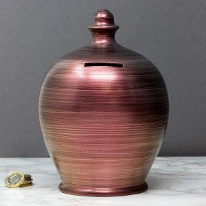 Terramundi Money Pot - Metallic Purple - A81