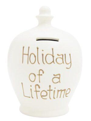 Terramundi Money Pot - 'HOLIDAY OF A LIFETIME' - S127