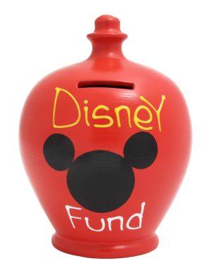 Terramundi Money Pot - Disney Fund, Red - S152