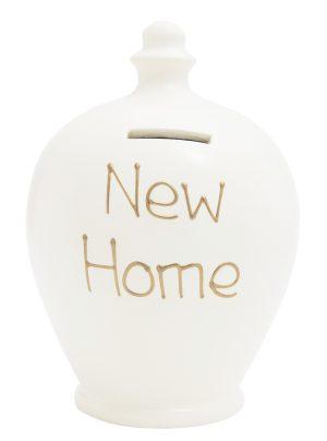 Terramundi Money Pot - New Home, White - S36