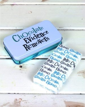 'Chocolate Evidence Removers' Small Tissue Tin - The Bright Side
