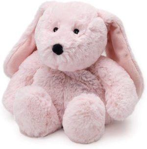 Intelex Cozy Plush Heatable Microwaveable Warmer Pink Bunny