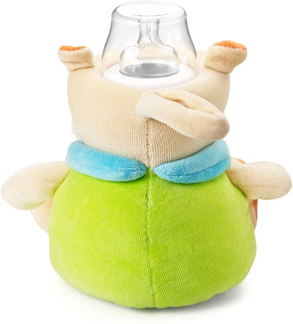 Milkysnugz Hippo Baby Feeding Bottle Cover Holder