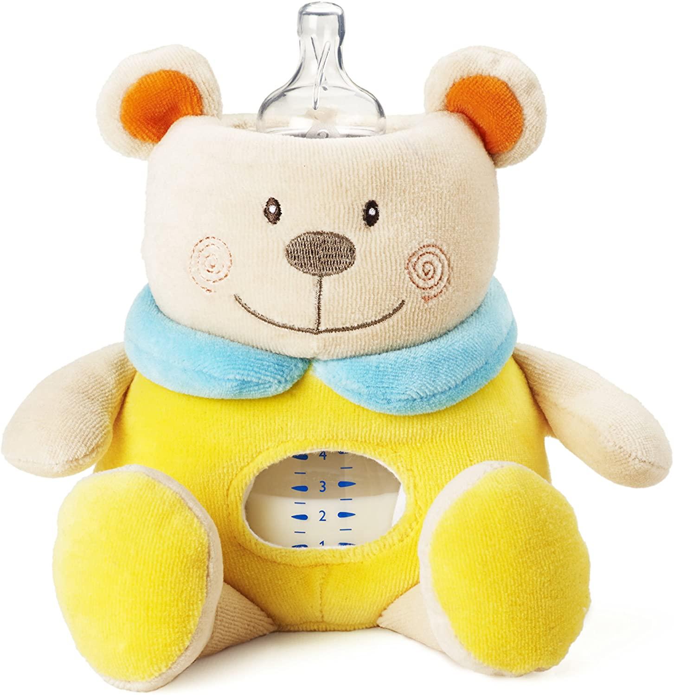 Milkysnugz teddy bear Baby Feeding Bottle Cover Holder