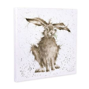 Wrendale Designs Hare-Brained Medium Canvas - 50 x 50 cm