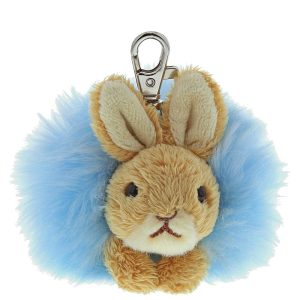 Peter Rabbit Pom Pom Keyring - Beatrix Potter