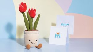 Jellycat Amuseable Tulip, 23 x 7 cm