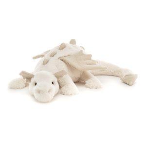 Jellycat Snow Dragon - 14 x 50 cm