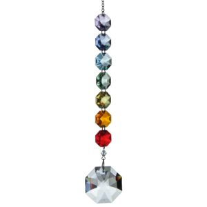 Crystal Radiance - Swarovski Crystal Octagon Rainbow Maker Sun Catcher