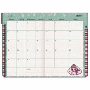 2021 Gorjuss Pocket Diary, Cherry Blossom - Santoro