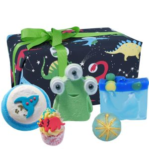 Dino-Mite Dinosaurs and Aliens Gift Pack - Bomb Cosmetics