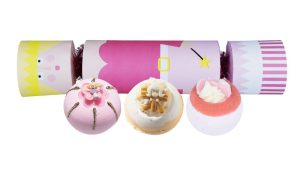 Sugar Plum Fairy Cracker Bath Bomb Gift Pack - Bomb Cosmetics