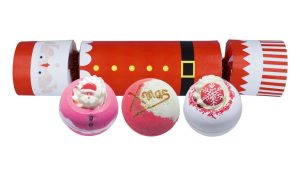 Father Christmas Cracker Bath Bomb Gift Pack - Bomb Cosmetics
