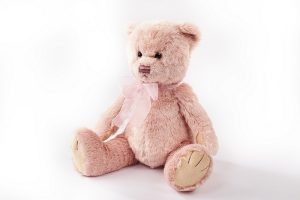 langs pink plush teddy bear