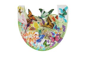 Santoro Butterfly Garden Popnrock 3D Pop-Up Card - Greetings and Birthday Card