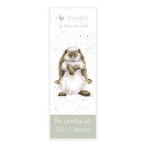 2021 The Country Set Slim Calendar - Wrendale Designs