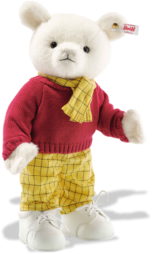 Steiff 100th Anniversary Musical Rupert Bear - Limited Edition EAN 690587