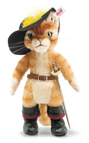 Steiff Puss In Boots, 26cm - Limited Edition EAN 355455